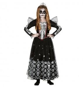 Disfraz de Princesa Esqueleto para niña