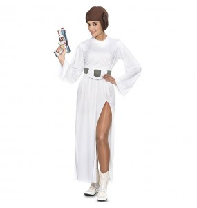 Disfraz de Princesa galáctica Leia para mujer