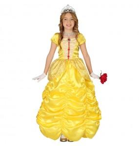 Disfraz de Princesa La Bella para niña