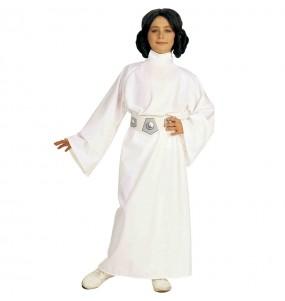 Disfraz de Princesa Leia Star Wars para niña