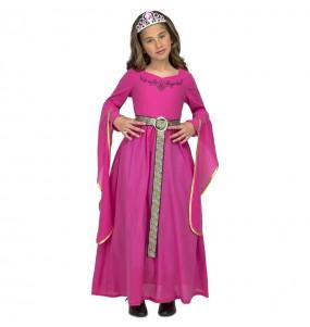 Disfraz de Princesa Medieval Catalina para niña