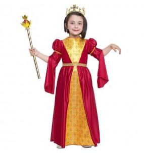 Disfraz de Princesa Medieval Inés para niña
