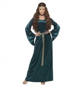 Disfraz de Princesa Medieval Leonilde para mujer