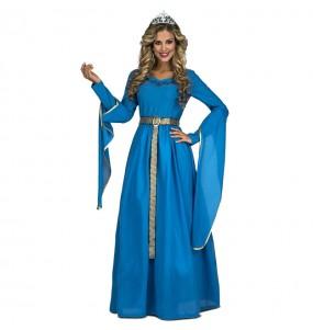 Disfraz de Princesa Medieval Leonor para mujer