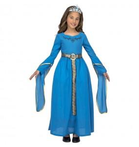 Disfraz de Princesa Medieval Leonor para niña