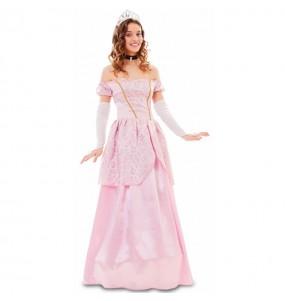 Disfraz de Princesa Rosa Cuento para mujer