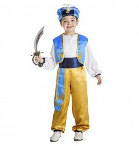 Disfraz de Príncipe árabe Aladino para niño