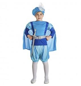 Disfraz de Príncipe Azul cuento de hadas para niño