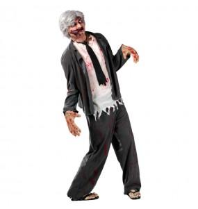 Disfraz de Profesor Zombie