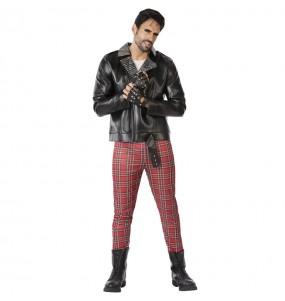 Disfraz de Punky años 80 para hombre