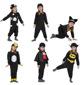 Disfraz de Quick n Fun Negro para niño
