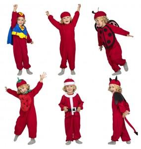 Disfraz de Quick n Fun Rojo para niño