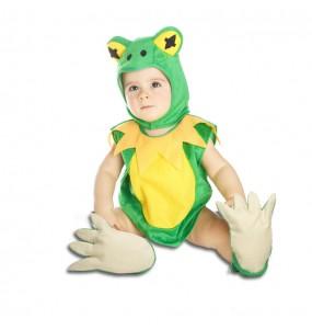 Disfraz de Rana Gustavo para bebé
