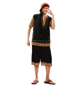 Disfraz de Rastafari