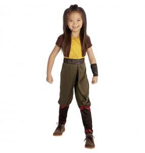 Disfraz de Raya y el Último Dragón para niña