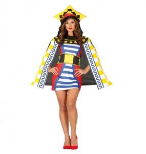 Disfraz de Reina del Póker para mujer