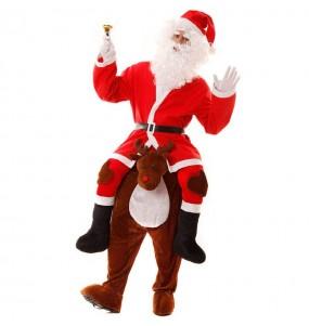 Disfraz de Reno Papá Noel a Hombros adulto