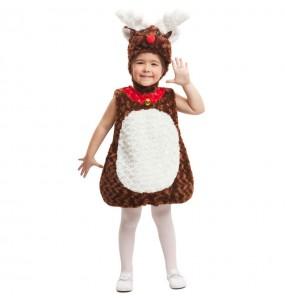 Disfraz de Reno peluche para niño