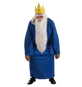 Disfraz de Rey Hielo Hora de Aventuras para hombre