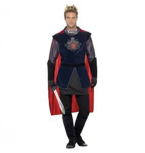Disfraz de Rey Medieval Arturo para hombre