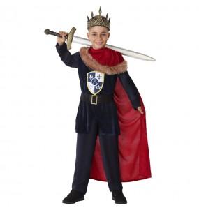 Disfraz de Rey Medieval Templario para niño
