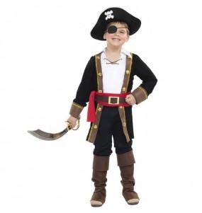 Disfraz de Rey pirata para niño