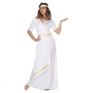 Disfraz de Romana Blanca para mujer