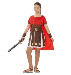 Disfraz de Romana Espartana para niña