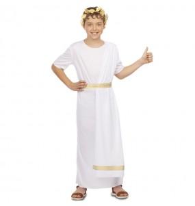 Disfraz de Romano Blanco para niño