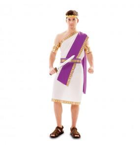 Disfraz de Romano Morado para hombre