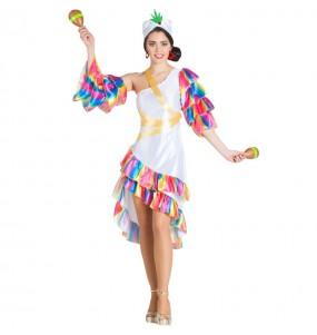 Disfraz de Rumbera Cubana para mujer