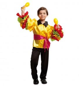 disfraz rumbero brasileño infantil