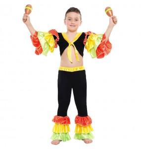 Disfraz de Rumbero Salsa para niño