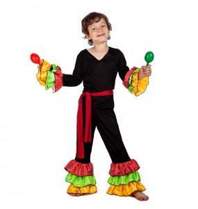 Disfraz de Rumbero Salsero para niño