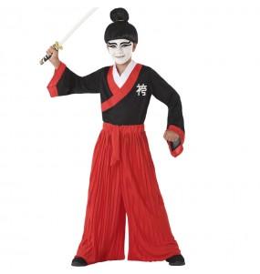 Disfraz de Samurái Japonés para niño
