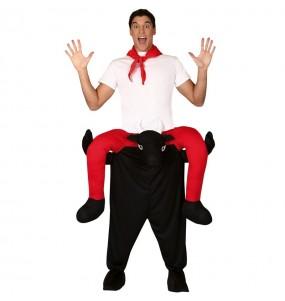 Disfraz de San Fermín a hombros para adulto