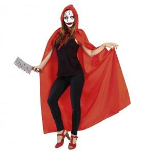 Disfraz de Sanguinaria encapuchada para mujer