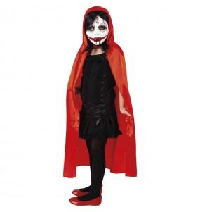 Disfraz de Sanguinaria encapuchada para niña