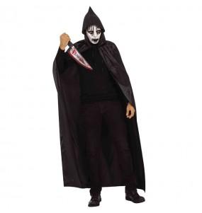 Disfraz de Sanguinario encapuchado para hombre
