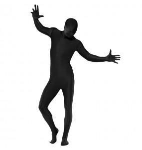 Disfraz de Segunda Piel Negro para adulto