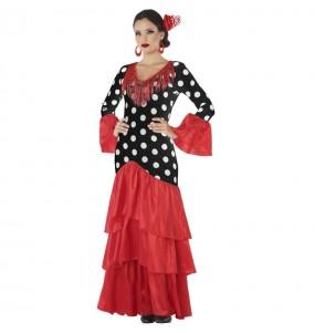 Disfraz de Sevillana Triana para mujer