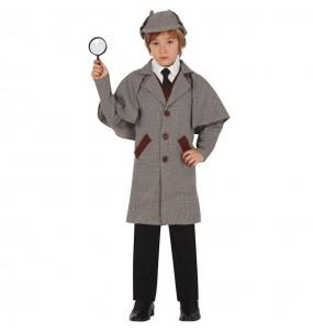 Disfraz de Sherlock Holmes para niño