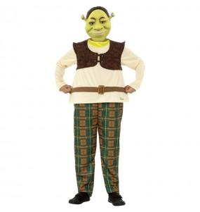 Disfraz de Shrek Deluxe para niño