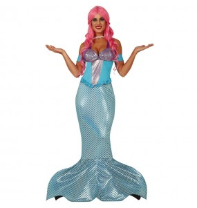 Disfraz de Sirenita para mujer