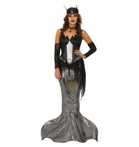 Disfraz de Sirena Zombie para mujer