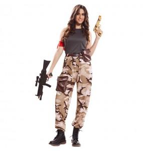 Disfraz de Soldado Fuerzas Especiales para mujer