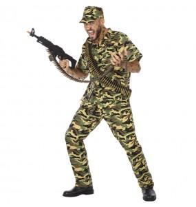 Disfraz de Soldado militar para hombre
