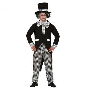 Disfraz de Sombrerero Loco Oscuro para hombre