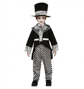 Disfraz de Sombrerero Loco Oscuro para niño