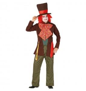 Disfraz de Sombrero Loco para adulto